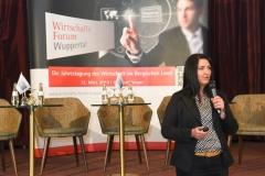 Inga Knoche beim Wirtschaftsforum Wuppertal 2019