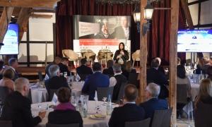 Inga Knoche hält die Keynote beim Wirtschaftsforum in Wuppertal 2019