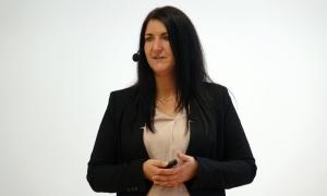 Inga Knoche präsentiert auf der CIM 2017